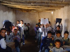 Young boys and girls in a school in Salah ad Din province in Iraq in 2004 or 2005. Sunni kids. How many are fighting for the Islamic State now?